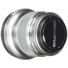 Olympus M. Zuiko Digital ED 45 mm F1.8 (Farbe Silber) für Olympus und Panasonic Micro 4/3 Kamera-20