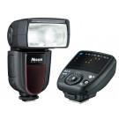 Nissin Di700 A Blitzgerät-Kit inkl. Kabelloser Fernauslöser für Canon-20