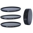 Slim Neutral Graufilter Set 77mm bestehend aus ND8, ND64, ND1000 Filtern 77mm inkl. Stack Cap Filtercontainer + Pro Lens Cap mit Innengriff-20
