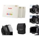 HAIDA Pro II MC Optical 150 mm x 100 mm GND Soft Edge Verlaufsfilterset ND0.3 (2x) (50 %) / ND0.6 (4x) (25%) / ND0.9 (8x) (12,5%) Inkl. Haida Filtertasche-20