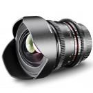 Walimex Pro 14mm 1:3,1 VDSLR Foto und Videoobjektiv (inkl. fester Gegenlichtblende, IF, Zahnkranz, stufenlose Blende und Fokus, Weitwinkelobjektiv) für Sony A Objektivbajonett schwarz-20