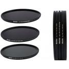 Slim PRO II Digital MC Neutral Graufilter Set bestehend aus ND8, ND64, ND1000 Filtern 62mm inkl. Stack Cap Filtercontainer + Pro Lens Cap mit Innengriff-20