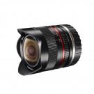Walimex Pro 8mm 1:2,8 Fish-Eye II CSC-Objektiv (Bildwinkel 180 Grad, MC Linsen, große Schärfentiefe, feste Gegenlichtblende) für Sony E-Mount Objektivbajonett schwarz-20