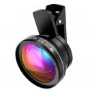 VTIN 2 IN 1 Clip on HD Kamera Objektiv Adapter (0,45X Super Weitwinkel Objektiv + 10X Makro Objektiv) für Handys, iPhone, Samsung-20