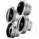 Mantona 18667 Objektiv-Set t (inkl. Weitwinkel/Fish-Eye/Markroobjektiv, geeignet für Smartphones Samsung, iPhone 4/4S/5/5S uva)-20