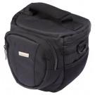 """Kameratasche """"""""EasyLoader"""""""" Colttasche für DSLR und Systemkamera (Universaltasche inkl. Schnellzugriff, Staubschutz, Tragegurt und Zubehörfach) schwarz, 15,5 x 15 x 10,5 cm-20"""