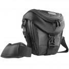 Mantona Colt Kameratasche (Universaltasche inkl. Schnellzugriff, Staubschutz, Tragegurt und Zubehörfach, geeignet für DSLR und Systemkameras) schwarz-20