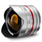 Walimex Pro 8mm 1:2,8 CSC Fish-Eye-Objektiv (feste Gegenlichtblende, UMC Linsen, große Tiefenschärfe) für Sony E Objektivbajonett silber-20