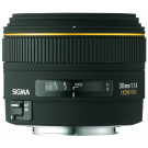 Sigma 30 mm F1,4 EX DC-Objektiv (62 mm Filtergewinde) für Sony Objektivbajonett-20