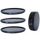 Slim Graufilter Set bestehend aus ND8, ND64, ND1000 Filtern 58mm inkl. Stack Cap Filtercontainer + Pro Lens Cap mit Innengriff-20