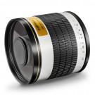 Walimex Pro 500mm 1:6,3 DSLR Spiegel-Teleobjektiv (Filtergewinde 34mm) für Canon EF Objektivbajonett weiß-20
