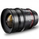Walimex Pro 24 mm 1:1,5 VCSC Foto/Videoobjektiv für Micro Four Thirds Objektivbajonett (Filtergewinde 77mm, Gegenlichtblende, Zahnkranz, stufenlose Blende/Fokus) schwarz-20