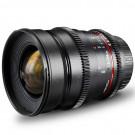 Walimex Pro 24 mm 1:1,5 VDSLR Foto und Videoobjektiv (inkl. Filtergewinde 77mm, Gegenlichtblende, Zahnkranz, stufenlose Blende und Fokus) für Olympus Four Thirds Objektivbajonett schwarz-20