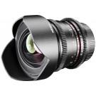 Walimex Pro 14mm 1:3,1 VCSC Foto/Videoobjektiv für Canonm Objektivbajonett (fester Gegenlichtblende, IF, Zahnkranz, stufenlose Blende/Fokus, Weitwinkelobjektiv) schwarz-20