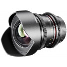 Walimex Pro 14mm 1:3,1 VCSC Foto/Videoobjektiv fürmicro Four Thirds Objektivbajonett (fester Gegenlichtblende, IF, Zahnkranz, stufenlose Blende/Fokus, Weitwinkelobjektiv) schwarz-20