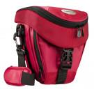 Mantona Colt Kameratasche (Universaltasche inkl. Schnellzugriff, Staubschutz, Tragegurt und Zubehörfach, geeignet für DSLR und Systemkameras) rot-20
