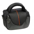 Dörr YUMA XS Fototasche für Systemkamera oder Camcorder schwarz/orange-20
