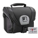 EOS Bundle Tasche für CANON EOS 550D 600D 650D 700D +Qualitäts Ersatzakku LP-E8 Fototasche-20