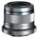 Olympus M.Zuiko Digital 45 mm 1:1.8 Objektiv silber-20