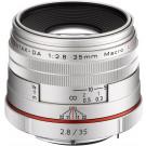 PENTAX DA35mm F2.8 Macro Limited SILVER K-mount APS-C 21460 HD DA35F2.8MACRO Limited SL-20