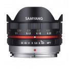 Samyang 7.5mm F3.5 UMC Fish-eye MFT für Micro Four Third, Schwarz-20