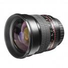 Walimex Pro 85mm 1:1,4 DSLR-Objektiv (Filtergewinde 72mm, IF, AS und ED-Linsen) für Pentax K Objektivbajonett schwarz-20