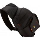 Case Logic SLRC205 SLR Slingbag S Kamerarucksack mit einstellbarem Schultergurt (für Spiegelreflex) schwarz/orange-20
