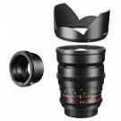 Walimex Pro 85mm 1:1,5 VCSC Video und Fotoobjektiv (Filtergewinde 72mm, Zahnkranz, stufenlose Blende und Fokus, IF) für Nikon 1 Objektivbajonett schwarz-20