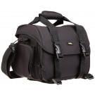 AmazonBasics Digital-Spiegelreflex-Kameratasche (groß, orangefarbenes Innenfutter)-20