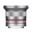 Samyang 12mm F2.0 Objektiv für Anschluss Fuji X silber-20