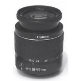 Canon Objektiv EF-S 18-55mm 1:3,5 - 5,6 III ,Bulk, Neu. Speziell für digitale EOS Kameras mit EF-S-Bjonett entwickeltes Zoom-Objektiv. Kompakt und leicht. Hohe Bildqualität bei allen Brennweiten. Optimierte Vergütungsschichten minimieren Streulicht und Re