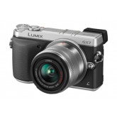 Panasonic Lumix DMC-GX7 Systemkamera (16 Megapixel, 7,5 cm (3 Zoll) Display, Full HD, optische Bildstabilisierung, WiFi, NFC) mit Objektiv H-FS1442AE-S schwarz/silber