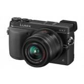 Panasonic Lumix DMC-GX7 Systemkamera (16 Megapixel, 7,6 cm (3 Zoll) Display, Full HD, optische Bildstabilisierung, WiFi, NFC) Kit inkl. H-FS1442AE-K Objektiv schwarz