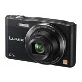 Panasonic DMC-SZ8EG-K Travellerzoom Kompaktkamera (16 Megapixel, 12-fach opt. Zoom, 7,6 cm (3 Zoll) LCD-Display, Full HD, WiFi) schwarz
