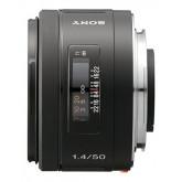 Sony SAL50F14, Standard-Premium-Objektiv (50 mm, F1,4, A-Mount Vollformat, geeignet für A99 Serie) schwarz