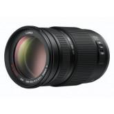 Panasonic H-FS100300E LUMIX G Vario Telezoom 100-300 mm F4.0-5.6 Objektiv (200-600 mm KB, O.I.S. Bildstabilisator) schwarz