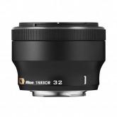 Nikon 1 Nikkor-Objektiv 32mm 1:1,2 (52mm Filtergewinde) schwarz