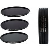 Slim PRO II Digital MC Neutral Graufilter Set bestehend aus ND8, ND64, ND1000 Filtern 72mm inkl. Stack Cap Filtercontainer + Pro Lens Cap mit Innengriff