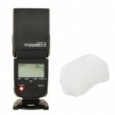 Yongnuo E-TTL Blitzgerät YN-568EX II YN568EX II mit Masterblitzfunktion bis 1/8000s für Canon