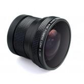 Objektiv Fisheye 0,15X für CANON EOS 1200D 1100D 1000D 700D 650D 600D 550D 500D 450D 400D 350D 300D 10D 20D 30D 40D 50D 60D 1D 5D 6D 7D