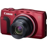 Canon PowerShot SX710 HS Digitalkamera (20,3 Megapixel CMOS, 30-fach optischer Zoom, 60-fach ZoomPlus, HS-System, opt. Bildstabilisator, 7,5 cm (3 Zoll) Display, Full HD Movie 60p, WLAN, NFC) rot