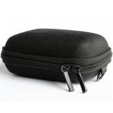 Bundlestar * Hardcase PURE black S Kameratasche universal mit Schultergurt und Gürtelschlaufe (passend zu: Siehe Produktmerkmale) (schwarz)