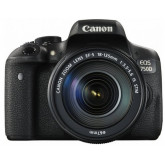 Canon EOS 750D SLR-Digitalkamera (24 Megapixel, APS-C CMOS-Sensor, WiFi, NFC, Full-HD) Kit inkl. EF-S 18-135 mm IS STM Objektiv schwarz