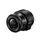 Sony ILCE-QX1 Systemkamera (WiFi, NFC, PlayMemories Mobile App) schwarz