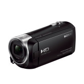 Sony HDR-CX405 Full HD Camcorder (30-fach opt. Zoom, 60x Klarbild-Zoom, Weitwinkel mit 26,8 mm, Optical Steady Shot) mit Intelligent Active Mode Verwacklungsarme Aufnahmen schwarz