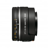 Sony SAL30M28, Makro-Objektiv (30 mm, F2,8 Macro SAM, A-Mount APS-C, geeignet für A77/ A58 Serien) schwarz