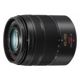 Panasonic Lumix G Vario H-FS45150E-K Telezoom-Objektiv 45-150mm /F4,0-5,6 ASPH./OIS Bildstabilisator schwarz