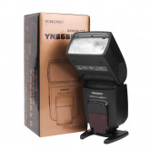 Yongnuo YN-568EX II Blitzgerät für Canon EOS Kamera mit Masterblitzfunktion