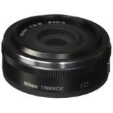 Nikon 1 Nikkor 10 mm 1:2,8 Objektiv schwarz