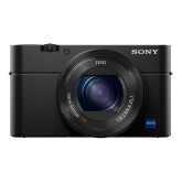 Sony DSC-RX100 IV Digitalkamera (Stacked Exmor RS CMOS Sensor, 40-fach Super-Zeitlupe, 4K Video, Anti-Distortion Verschluss, Pop-Up-Sucher, 24-70 mm ZEISS Vario-Sonnar T) schwarz